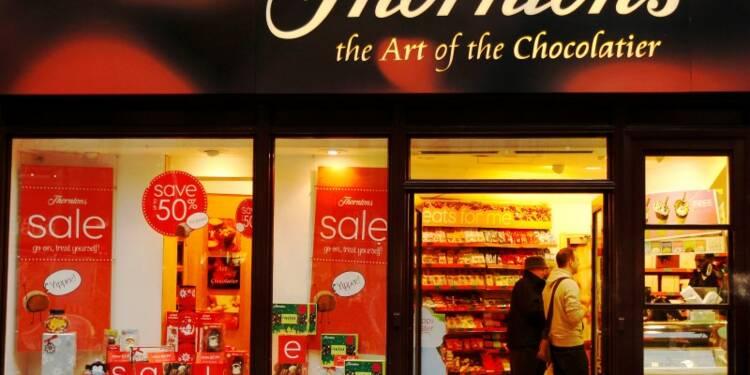 Ferrero veut racheter le britannique Thorntons