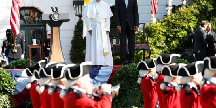 Le pape évoque à la Maison blanche le climat et les inégalités