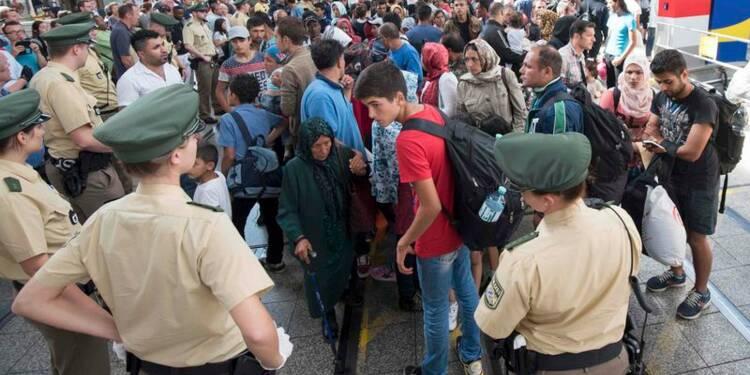 Plus de 100.000 demandeurs d'asile arrivés en Allemagne en août