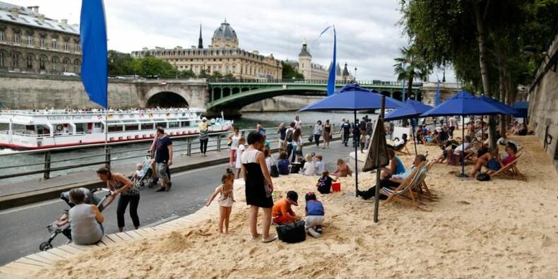"""La maire de Paris défend """"Tel Aviv sur Seine"""""""