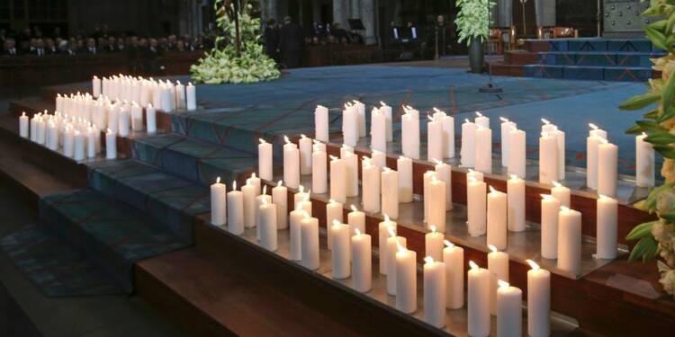 Hommage à Cologne aux victimes du drame de Germanwings