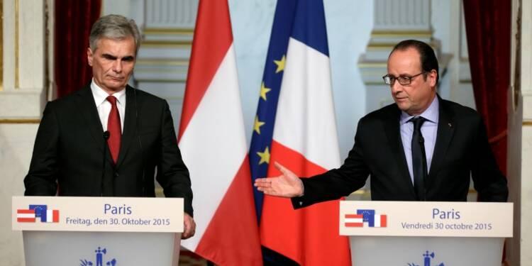 François Hollande veut dissuader l'Autriche d'ériger une clôture