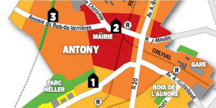 Immobilier en Ile-de-France : la carte des prix d'Antony, Bourg-la-Reine et Sceaux
