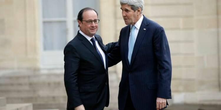 La pression sur Daech produit des effets, assure John Kerry