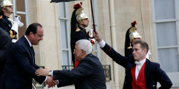 Mahmoud Abbas évoque le risque d'une nouvelle intifada