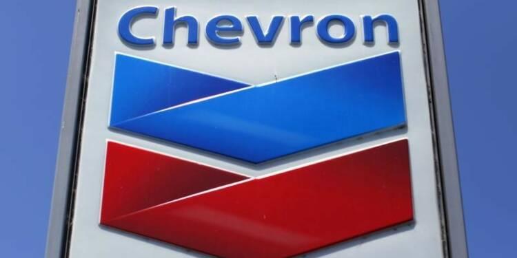 Chute de 90% du bénéfice trimestriel de Chevron