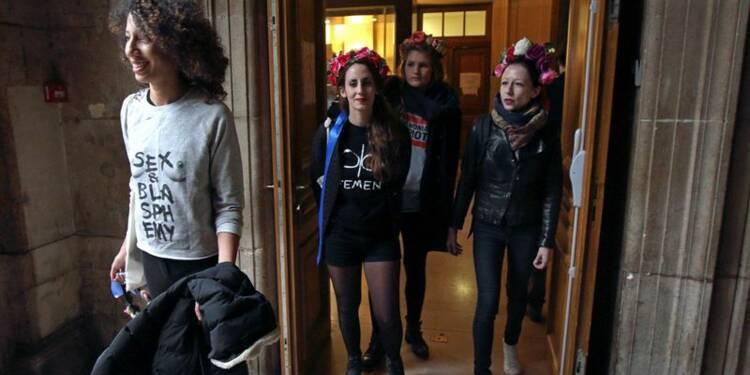 Des Femen relaxées en appel pour leur action à Notre-Dame