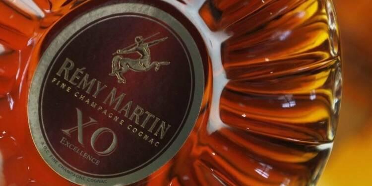 Rémy Cointreau porté par un rebond de ses ventes de cognac