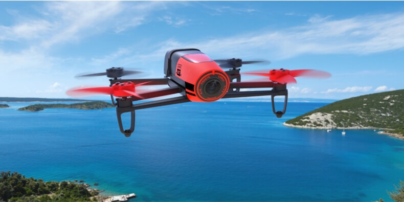 Parrot s'envole en Bourse, son nouveau drone Bebop remarqué