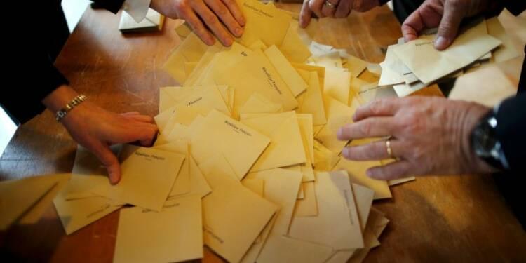 Départementales: l'UMP devance le FN, le PS distancé