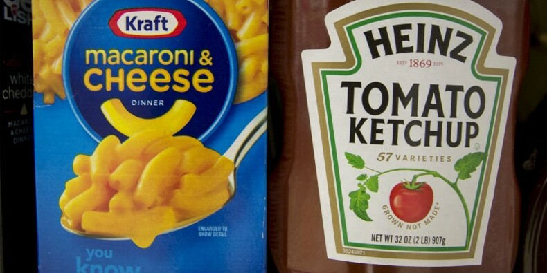 Kraft et Heinz créent le n°5 mondial de l'alimentation