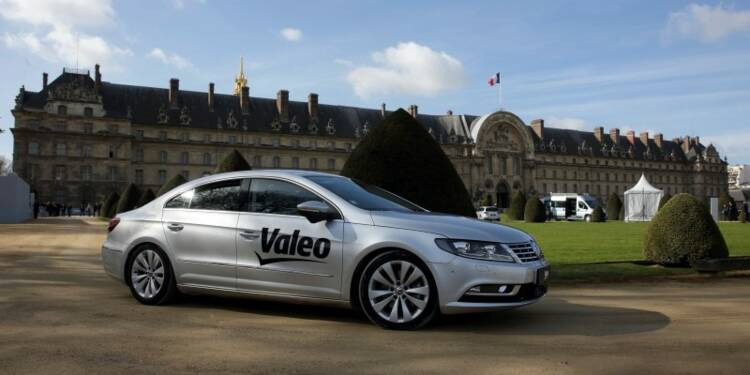 Valeo et Safran présentent une voiture autonome sans GPS