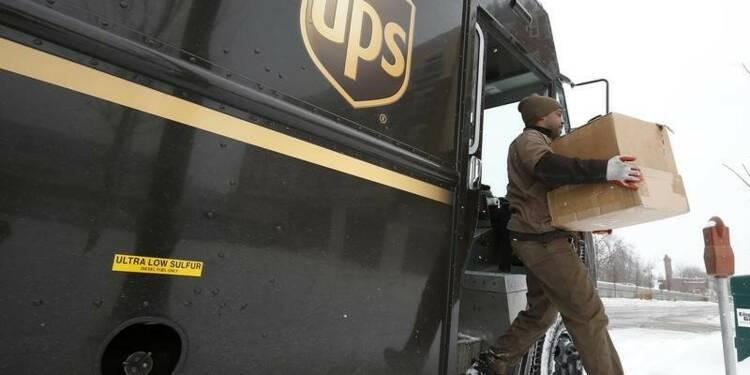 UPS confirme ses prévisions annuelles
