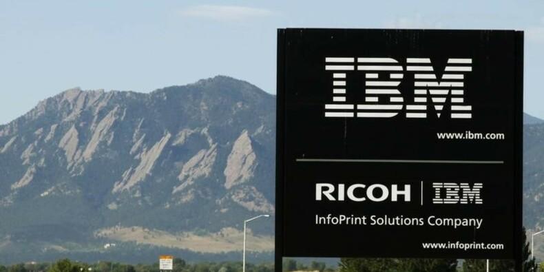 Treizième trimestre de suite de recul du CA d'IBM