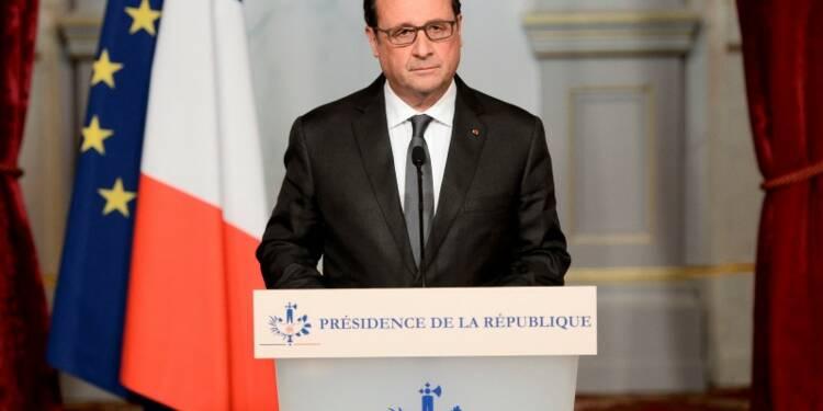 François Hollande dénonce un acte de guerre contre la France