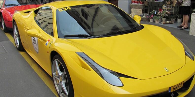 Offrez-vous une part de Ferrari