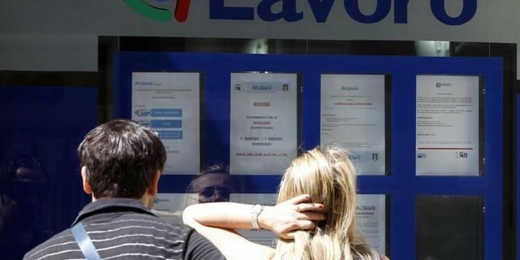 Le taux de chômage en Italie à un plus bas de deux ans