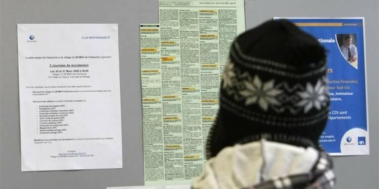 Les Français doutent de l'inversion de la courbe du chômage