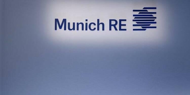 Munich Re reste sous pression dans un marché toujours difficile