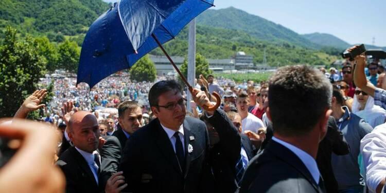 Le Premier ministre serbe chassé des cérémonies de Srebrenica