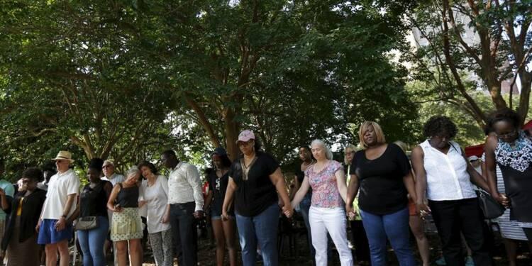 Cérémonie à la mémoire des victimes à Charleston