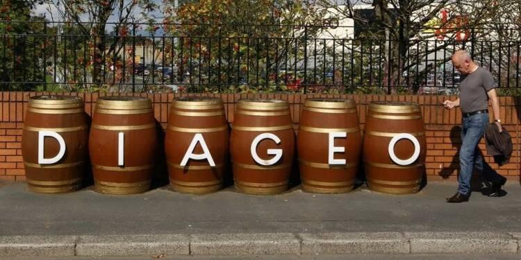 Diageo voit un redressement après deux années de stagnation