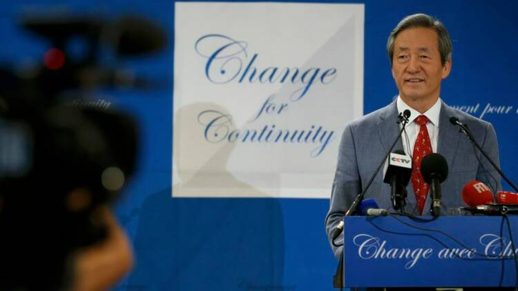 Chung Mong-joon candidat à la FIFA, égratigne Michel Platini