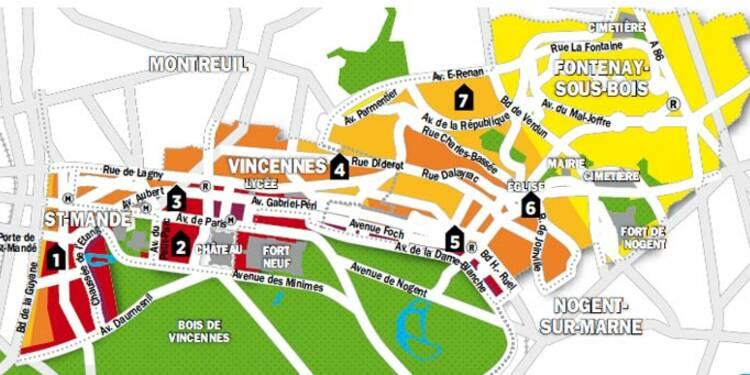 Immobilier en Ile-de-France : la carte des prix de Saint-Mandé, Fontenay-sous-Bois et Vincennes
