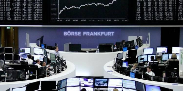 La zone euro finit en hausse, optimisme sur la croissance