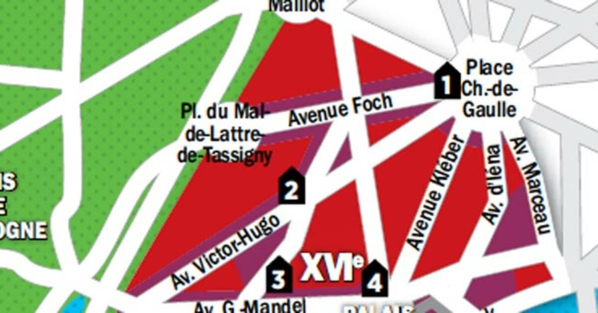 immobilier paris la carte des prix du 16e arrondissement. Black Bedroom Furniture Sets. Home Design Ideas