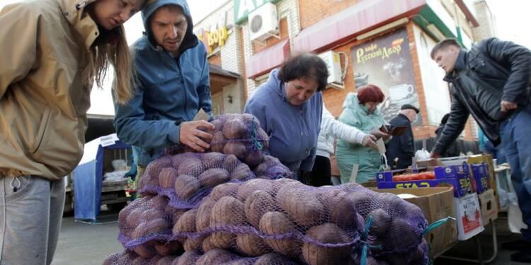Le PIB russe s'est contracté de 4,2% en avril