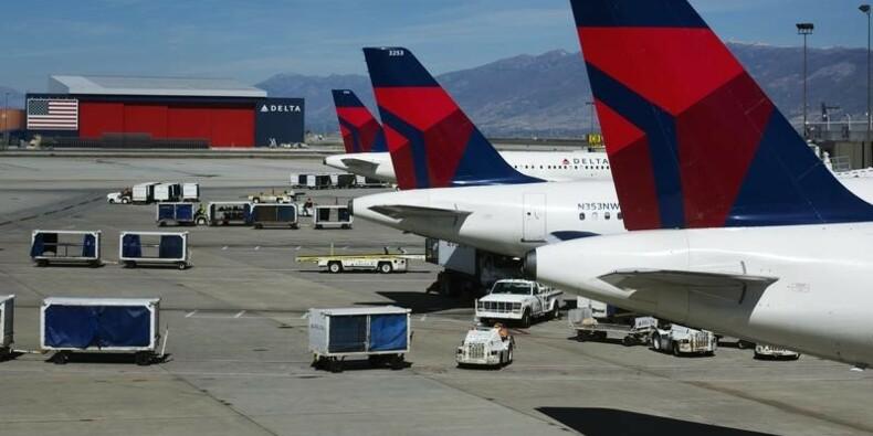Delta Air Lines fait état d'un recul de son CA par passager