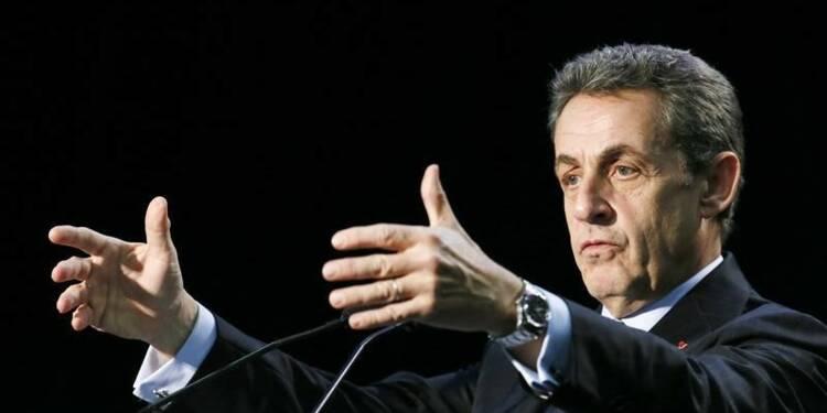 L'alternance est en marche, déclare Nicolas Sarkozy