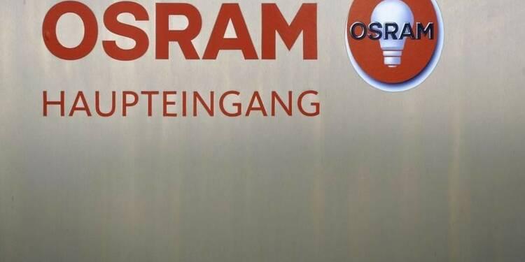 Le bénéfice net d'Osram a augmenté de 13% au 2e trimestre