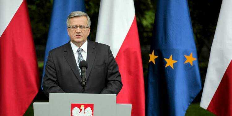 Le président sortant devancé au premier tour en Pologne