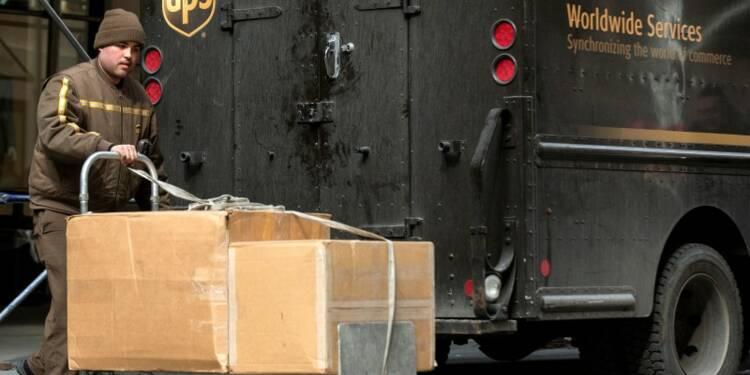 UPS confirme son objectif de bénéfice annuel