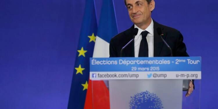 Nicolas Sarkozy salue une étape historique vers l'alternance