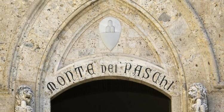 Monte Paschi prédit un bénéfice net en 2015, l'action monte