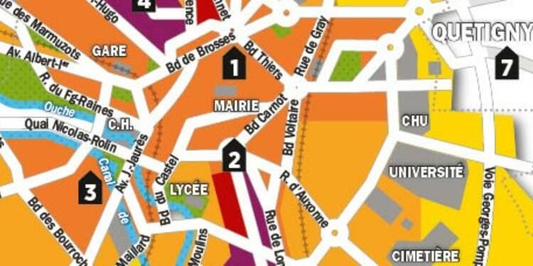 Immobilier : la carte des prix de Dijon