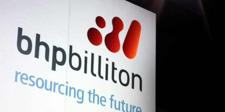 Le bénéfice annuel de BHP Billiton à un creux de 10 ans
