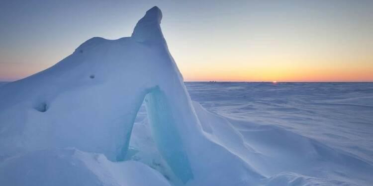 La banquise hivernale de l'Arctique au plus bas depuis 1979