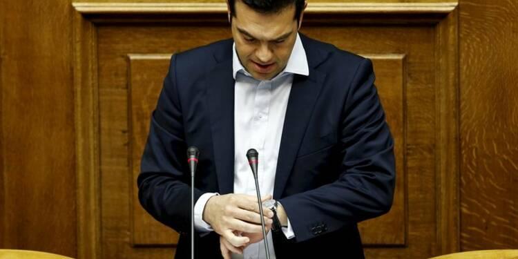 """Alexis Tsipras appelle à voter """"non"""" et met sa démission en jeu"""