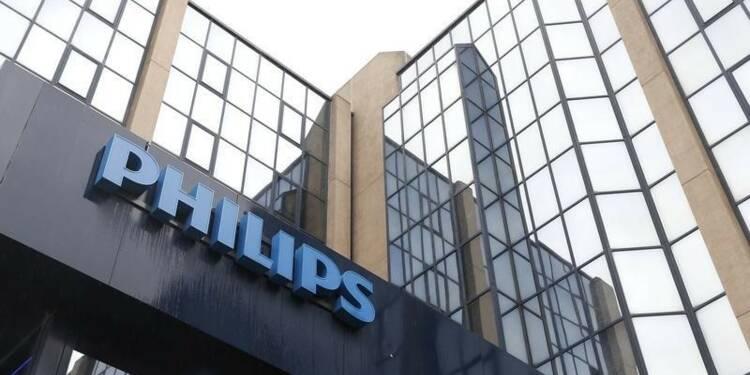 Philips prévoit une croissance modeste de ses ventes en 2016