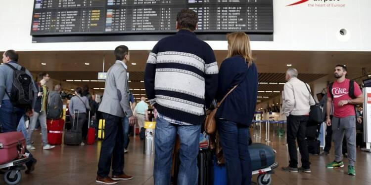Le trafic aérien belge perturbé par un problème technique
