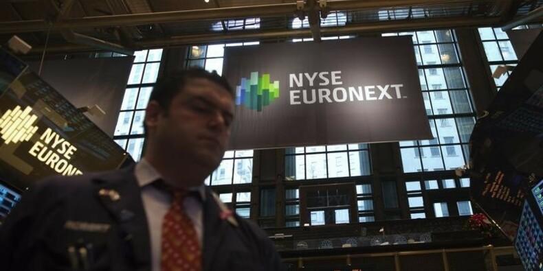 Euronext améliore sa marge au 1er trimestre
