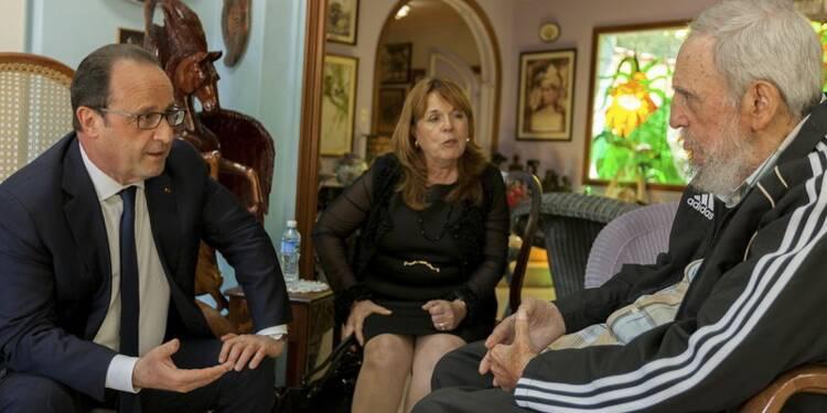 Visite à Cuba remplie de symboles pour François Hollande