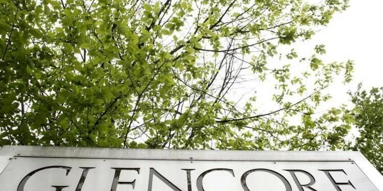 Glencore voit son bénéfice reculer de 29% au premier semestre