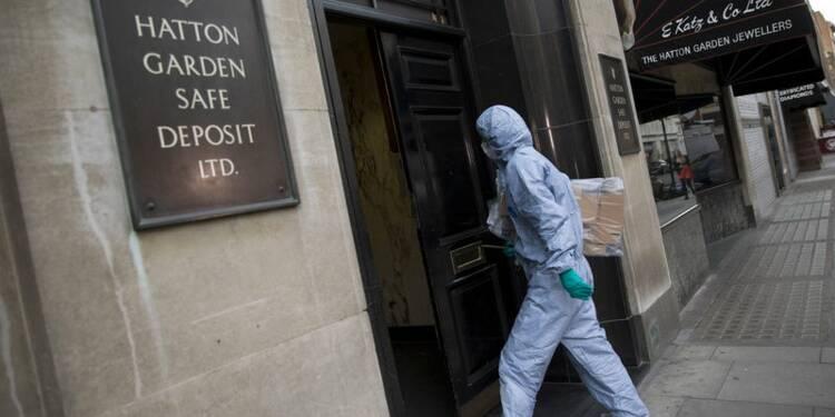 Scotland Yard recherche les auteurs d'un cambriolage historique