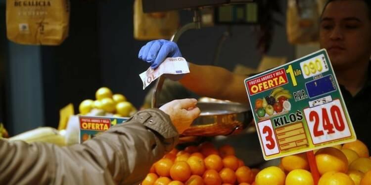 Neuvième mois de baisse des prix en Espagne en mars