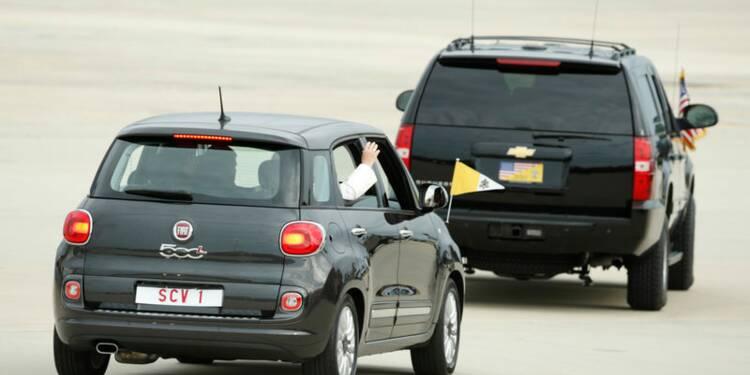 Le pape arrive aux Etats-Unis sous le signe de la modestie